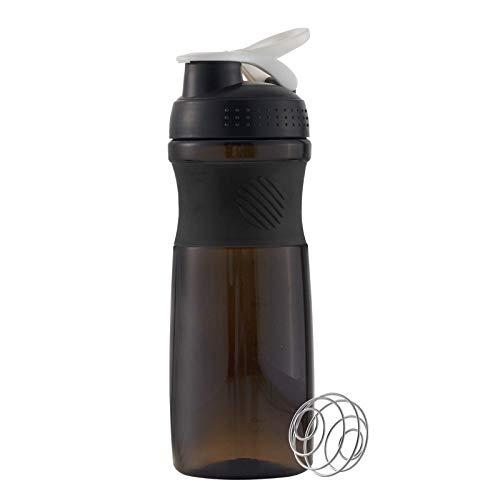 J Sport Protein Shaker Cup BPA-freier Sport Auslaufsicherer Wasserkocher Wasserkocher Cup für Fitness und Reisen 800 ml