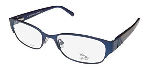 Saks Fifth Avenue 263 Designer-Brille mit Federscharnieren, Premium-Qualität, modische Brille