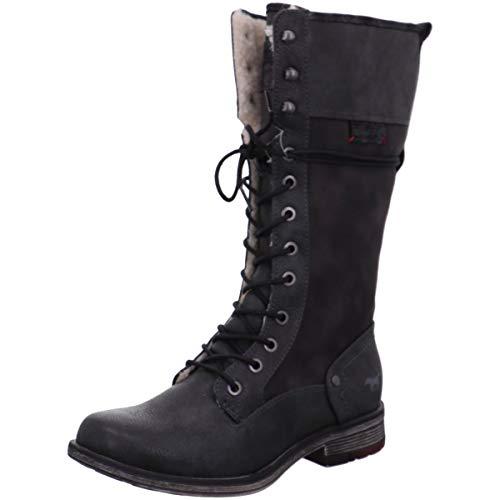 MUSTANG Shoes Stiefel in Übergrößen Grau 1295-606-259 große Damenschuhe, Größe:44