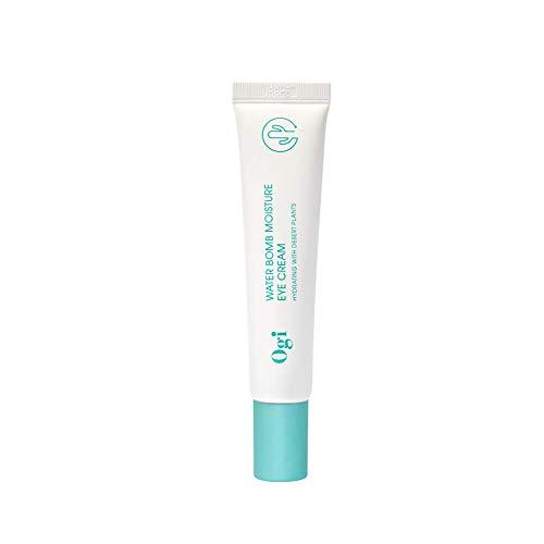 Ogi - Water Bomb Moisture Eye Cream, Crema de Ojos Hidratante y Antiarrugas, 20ml