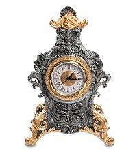 Barock-Uhr, echtes Design, 31 cm
