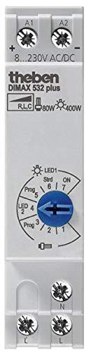 Theben 5320001 DIMAX 532 Plus - Universaldimmer mit automatischer Lasterkennung, Dimmer, Dimmschalter