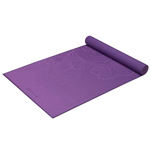 gaiam materassino Yoga, Disponibili in Diversi Colori, Fading Flower