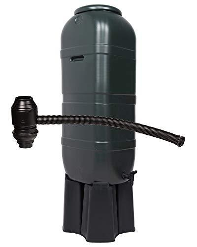 Ondis24 Regentonne Wassertonne Gieswasserbehälter Regenbehälter, für Balkone und Terrasse, 100 Liter