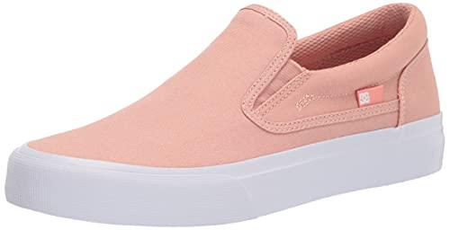 DC womens Trase Slip Skate Shoe, Amber Rose, 6.5 US