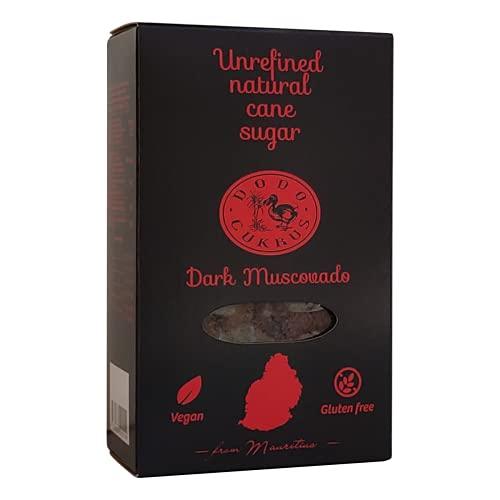 Dodo cukrus I Dark Muscovado I Sucre de canne complet (Cassonade) (Pack de 5 boites x 300 g)
