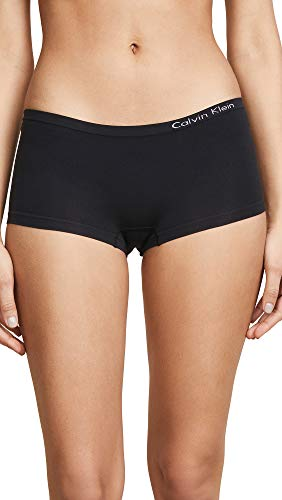 Calvin Klein Pure Seamless Boyshort Black Large