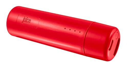 Juice Tube draagbare powerbank, 2200 mAh, rood