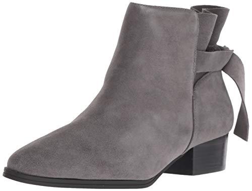 Aerosoles Women's Crosswalk Ankle Boot, Grey Suede, 8 M US