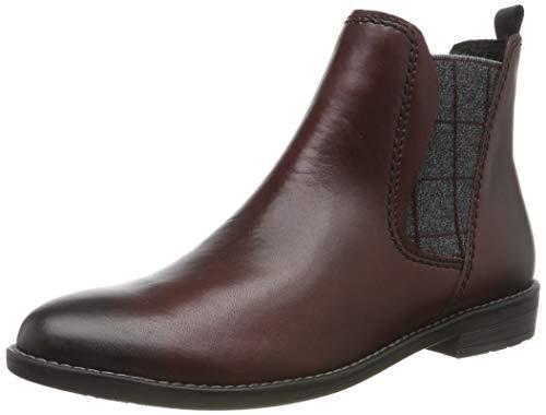 MARCO TOZZI Damen 2-2-25366-33 Chelsea Boots, Rot (Bordeaux A.Core 542), 38 EU