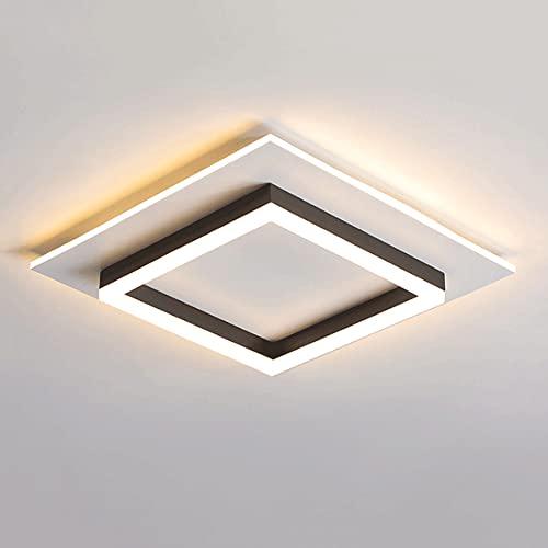 YHBHNB Lámpara de techo LED empotrada moderna y simple para dormitorio principal, lámpara de estudio creativa, lámpara de pasillo, lámpara de pasillo, lámparas de habitación modelo de balcón y lintern