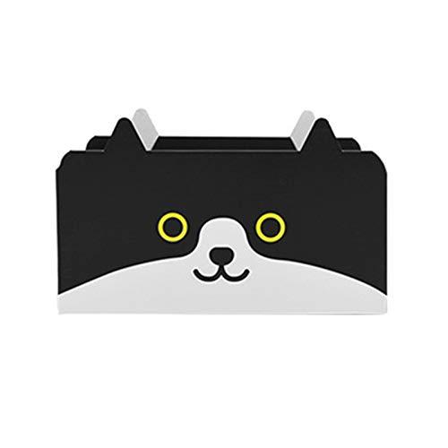 Ganghuo Alfombrilla para rascar gatos con caja plegable diseñada para gatitos y cartón grueso corrugado para mascotas no arroja chips