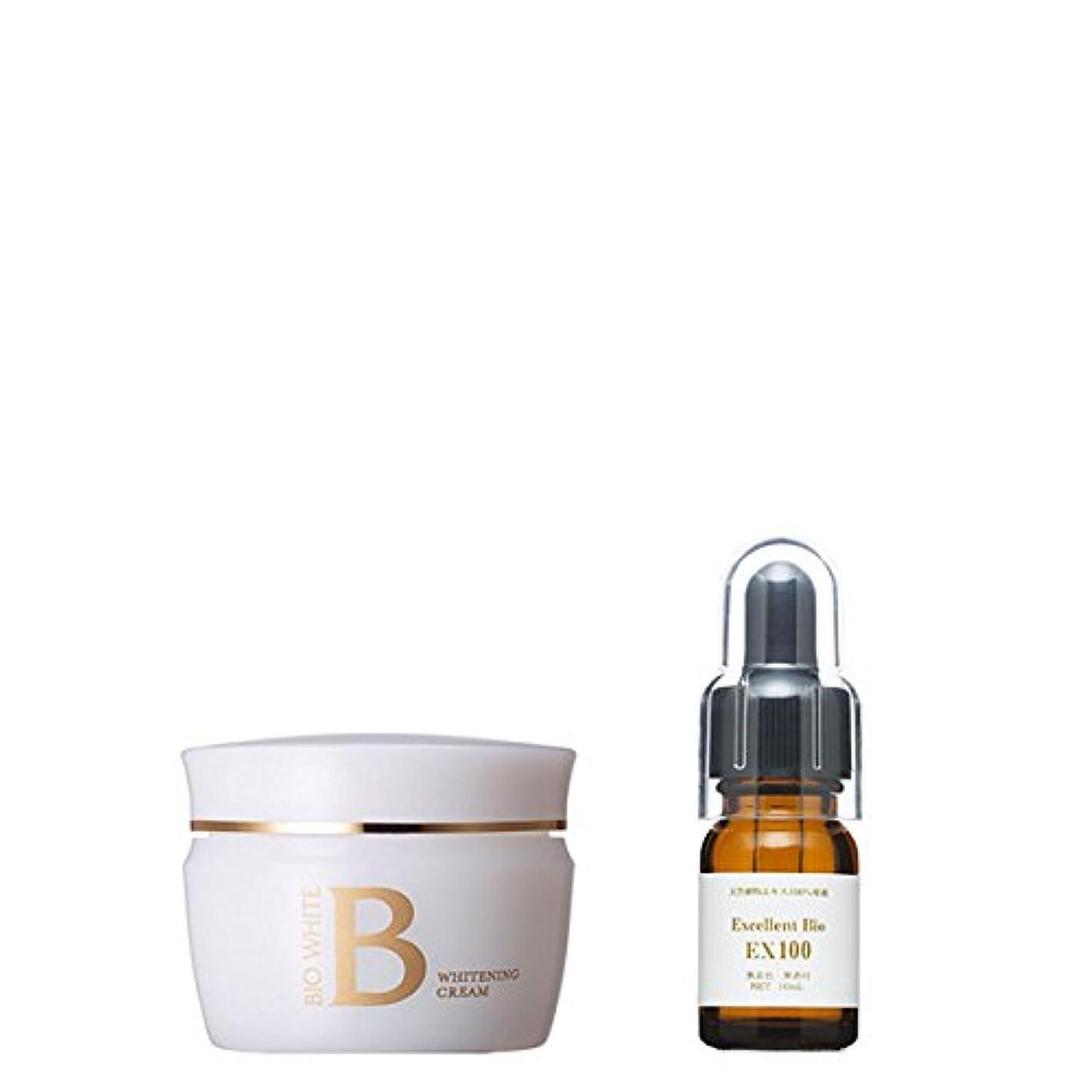 意識的ゴール流産エビス化粧品(EBiS) ビーホワイトクリーム40g & エクセレントバイオEX100 10ml