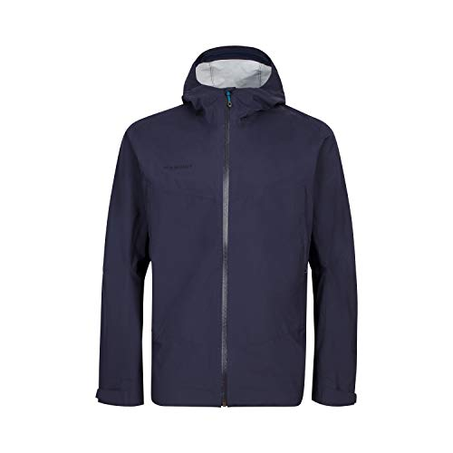Mammut Herren Hardshell-jacke Albula Hooded, blau, XL