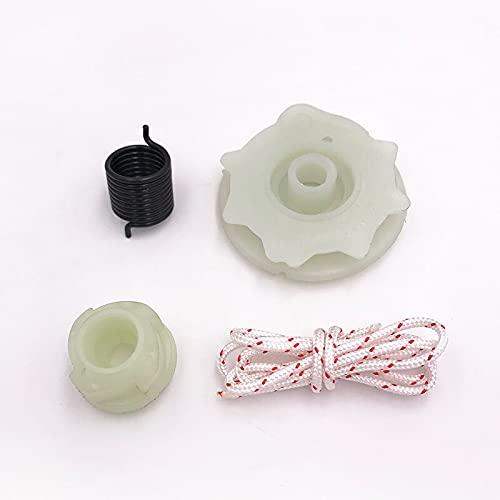 Kit de cubo de resorte de polea de arranque de retroceso de alta calidad para piezas de motosierras HUSQVARNA 137142235 235E 236 236E 240 (Size : HUS137)