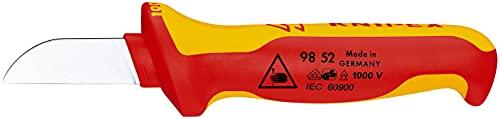 KNIPEX Cuchillo para cable aislado 1000V (190 mm) 98 52