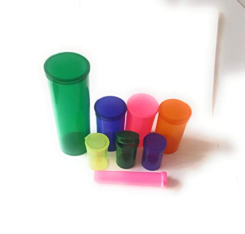 Zijn Hers Rokers Smellproof Squeeze PoP Top Medische Opslag Container potten Gratis RX Stickers Rolling Tube 14g 3-5g 1g