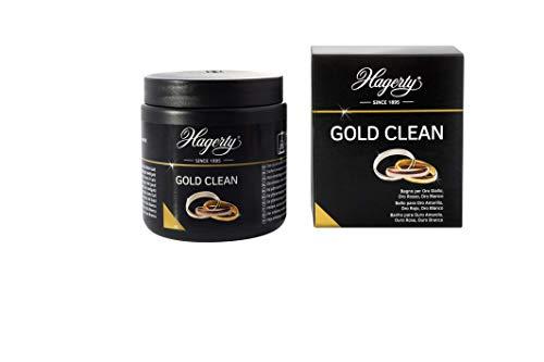 Hagerty Gold Clean Bagno detergente oro 170 ml I Bagno per la pulizia di gioielli d'oro giallo, bianco, rosa e rosso I Detergente per gioielli d'oro per una nuova brillantezza I Con cestello