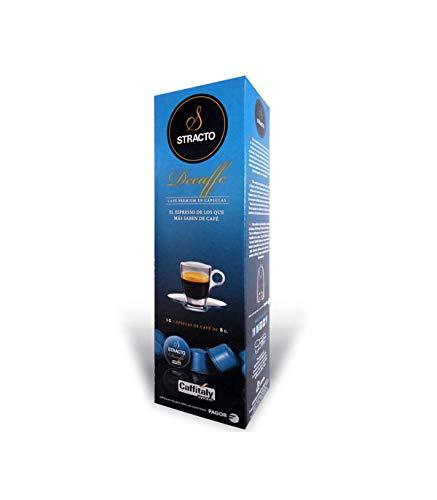Stracto Capsulas de Cafe 80637, Decaffe 80 Unidades 1220 g