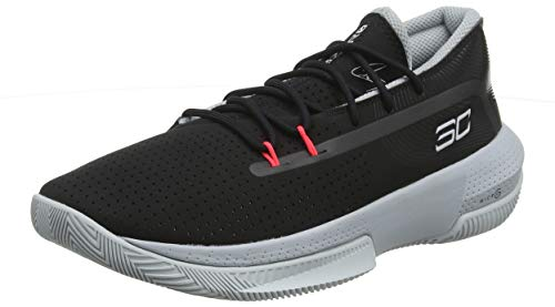 Under Armour UA GS SC 3ZER0 III, Zapatos de Baloncesto Unisex Niños, Negro (Black/Mod Gray/Halo...