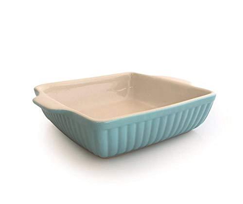 Jomafe - Fuente rectangular para horno (cerámica de alta calidad), perfecto para lasaña, tarta, cazuela, gratinado de patatas, verduras y desmoronar (huevo de patata, 36 cm)
