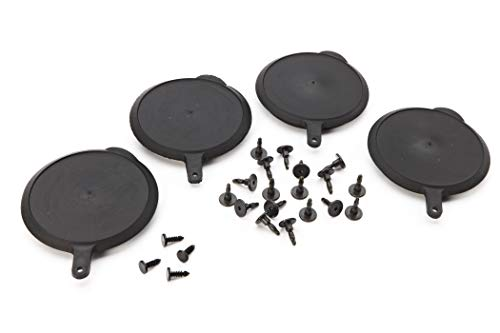 GM Accessories 22917277 Truck Bed Liner Attachment Kit with Screws, Retainers, and Tie-Down Covers