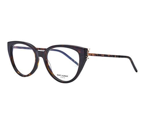 Yves Saint Laurent SL-M48_A 004 - Gafas de sol (plástico acetato, metal), color negro