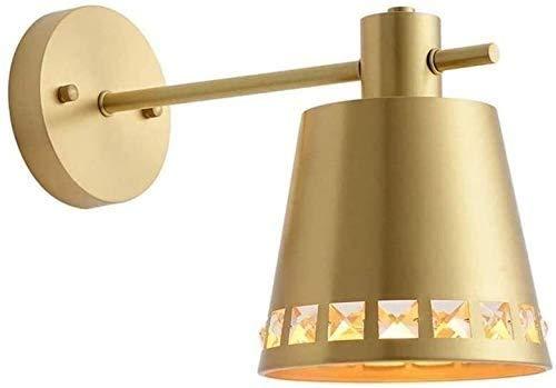 Lámpara De Pared Simple Y Fresca Estilo minimalista Iluminación de pared de metal LED MODERNO MODERNA MINIMALISTA Lámpara de la lámpara de la lámpara de la cama de la cama de la noche del espejo Light