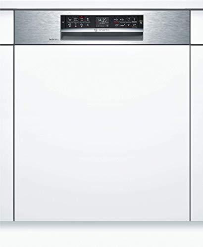 Bosch SMI68TS06E Serie 6 Geschirrspüler Teilintegriert / A+++ / 60 cm / 237 kWh/Jahr / 14 MGD / Edelstahl / SuperSilence / TFT-Display / PerfectDry mit Zeolith / VarioSchublade Pro
