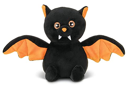 Bearington Echo Plush Stuffed Animal Halloween Black Bat, 7.5 inches