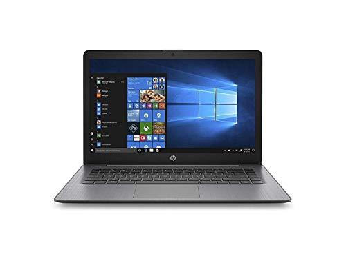 HP Stream 14-ds0020nr 14' Notebook, A-Series A4-9120e, 4GB RAM, 32GB Flash Memory, Windows 10 Home (6ZB99UA#ABA) (Renewed)