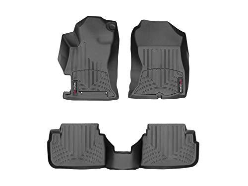 WeatherTech Custom Fit FloorLiner for Crosstrek/Impreza - 1st & 2nd Row (Black)