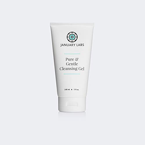 January Labs Skin Essentials Pure & Gentle Cleansing Gel, 5 oz. Tube