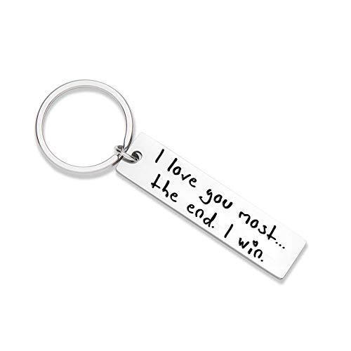XGAKWD Husband Keychain Gifts from Wife for Wedding Anniversary Valentine