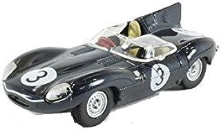 Oxford Jaguar D Type Diecast Car, Multi-Colour, 76DTYP002