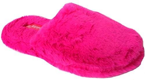 de fonseca Ciabatte Pantofole Invernali Donna MOD. Roma Top I W556 Fuxia (36/37)