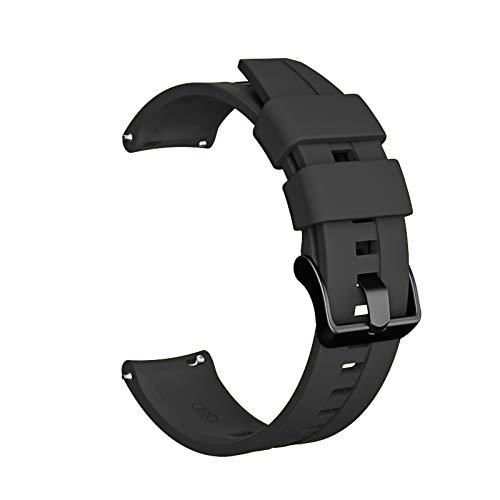 PZZZHF 22mm Watch Band para Huawei Watch GT 2E GT 2 para Honor Magic Watch 2 Strap para Samsung Galaxy Watch Active 2 para los Accesorios GTR de Amazfit GTR (Band Color : 12112, Band Width : 22mm)