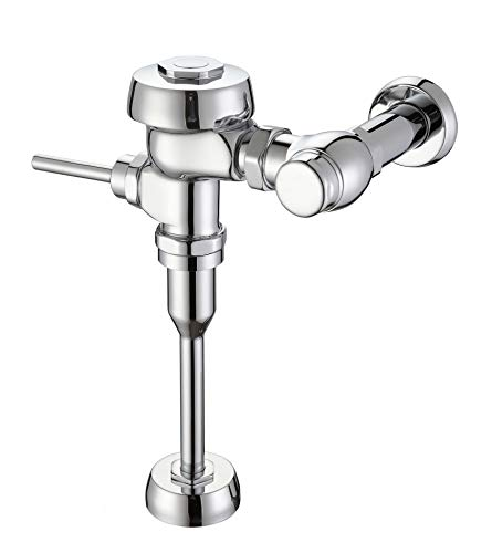 The GQXY's brand that Manual flatwise 0.5GPF Urinal Flush Valve,Chrome,GQ817, white flushometer