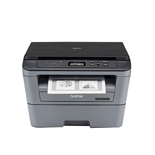Brother DCP-L2520D Multi-Function Monochrome Laser Printer with...