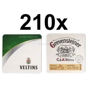 Veltins Bierdeckel Untersetzer Unterlage Pappdeckel Bierfilz Aktion - 210 Stück (3x 70er Packung)