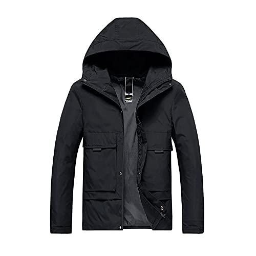 Chaquetas de los hombres Windbreak impermeable con capucha delgada abrigo de los hombres Otoño Ropa de trabajo de todo partido tendencia casual chaqueta