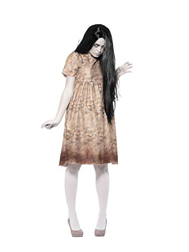 Smiffys Evil Spirit Costume Disfraz de espíritu maligno, color gris, S-UK Size 08-10 (47561S)