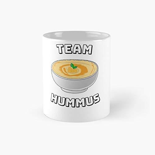 Teatro Hummus Statement Funny Vegan Falafel Classic - Taza