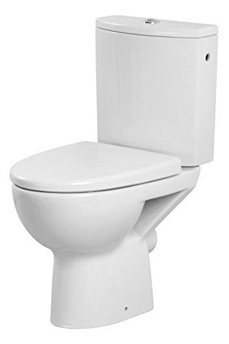 DOMINO KERAMIK STAND-WC-TOILETTE #81426 ABSENKAUTOMATIK TIEFSPÜLER