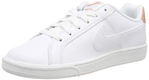Nike Court Royale, Zapatillas de Gimnasia Mujer, Blanco (White/White/Rose Gold 116), 39 EU