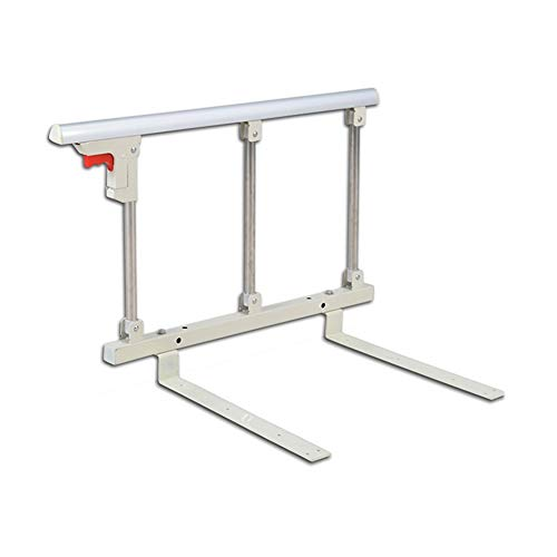 N / A Bed Guard Rail, Stainless Steel Foldable Portable and Steady Support Rail, Fall Prevention of Elderly Disabled Patients Assistance Devices, 70x40cm LvMyShe (Size : 70x40cm)