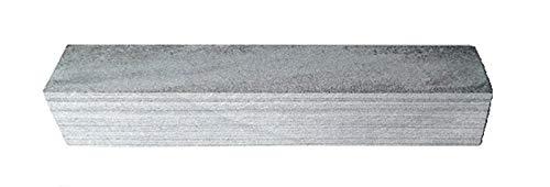 Pierre à aiguiser naturelle des Pyrénées 200 x 35 x 35 spéciale couteaux qualité dure