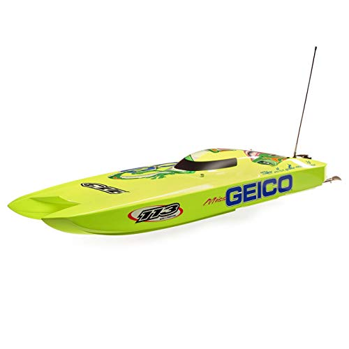 "Pro Boat Miss Geico Zelos 36"" Twin Brushless Catamaran RTR, PRB08040"