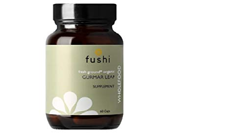 Fushi Organic Gurmar Leaf Capsules, 60 Caps | Fresh-Ground Whole Food | Helps Appetite and Weight Loss | Indigenously Sourced, Ethical & Vegan | Made in the UK