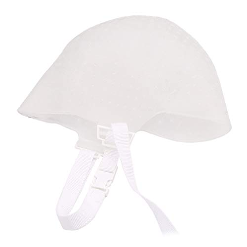 Minkissy Chapeau de Surbrillance en Silicone Chapeau de Cheveux de Surbrillance Réutilisable Capuchon de Glaçage Capuchon de Coloration Des Cheveux Capuchon de Teinture pour Salon de Maison